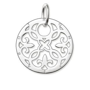 Thomas Sabo Glam And Soul Sterling Silver Ornament Small Pendant
