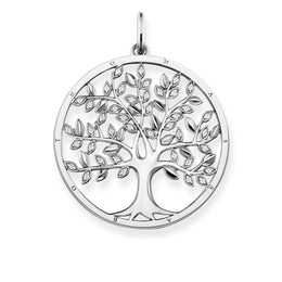 Thomas Sabo Glam & Soul Sterling Silver Tree of Love Pendant, PE759-051-14.
