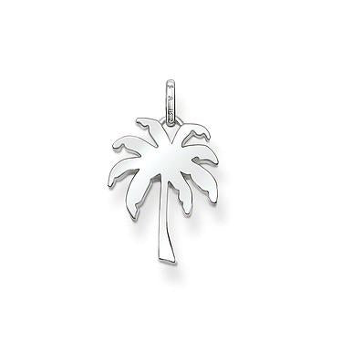 Thomas Sabo Karma Beads Sterling Silver Palm Tree Pendant D