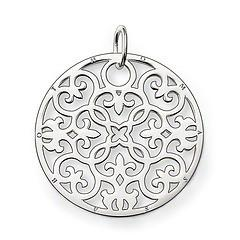 Thomas Sabo Sterling Silver Ornament Large Pendant PE431-001-12
