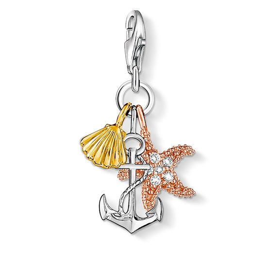 Thomas Sabo charm Club Sterling Silver Summer Beach Charm