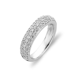 Ti Sento Sterling Silver Cubic Zirconia Dress Ring 1304ZI