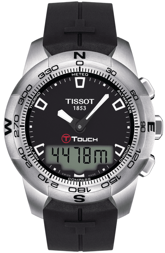 Tissot Watch T-Touch II Stainless Steel T0474201705100