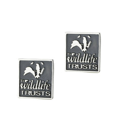 Wild Life Trust Collection Sterling Silver Badger Cufflinks