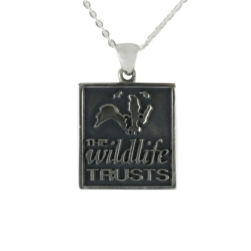 Wild life Trust Collection Sterling Silver Square Necklace