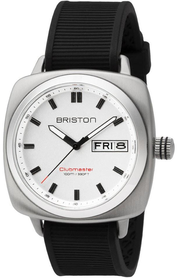 Briston Watch Clubmaster Sport HMS Day Date Timeless 16342.S.SP.2.RB