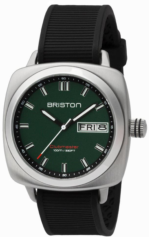 Briston Watch Clubmaster Sport HMS Day Date Timeless 16342.S.SP.16.RB