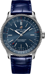 Breitling Watch Navitimer Automatic 35 Copper Blue Croco Tang Type A17395161C1P1