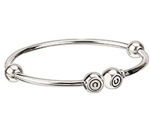 Chamilia Bangle Solid Silver