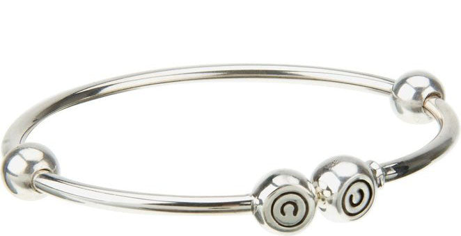 Chamilia Bangle Solid Silver Large S