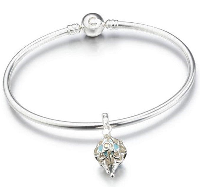 Chamilia Bangle North Star Gift Set Silver