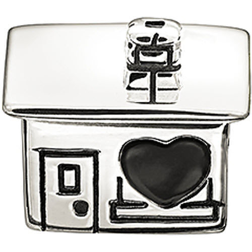 Chamilia Charm Home Is Where The Heart Is Silver