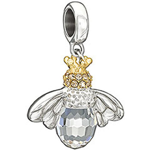 Chamilia Charm Good To Bee Queen Silver