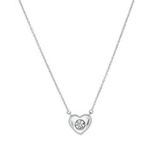 Chamilia Necklace 2015 Ltd Edition Whole Hearted Gift Silver