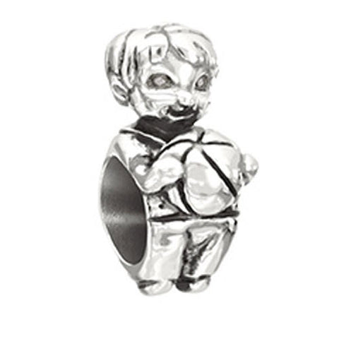 Chamilia Charm Snips & Snails Little Boy Silver