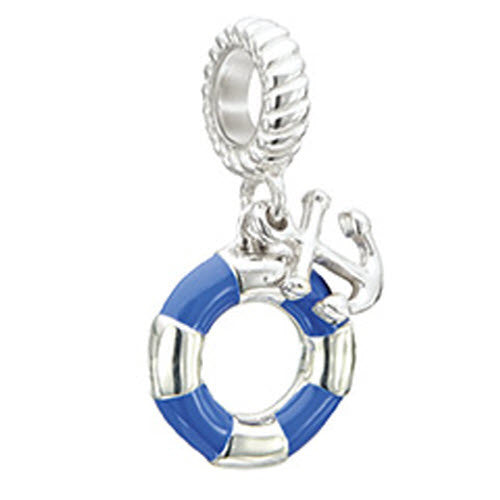 Chamilia Charm Anchors Away Silver