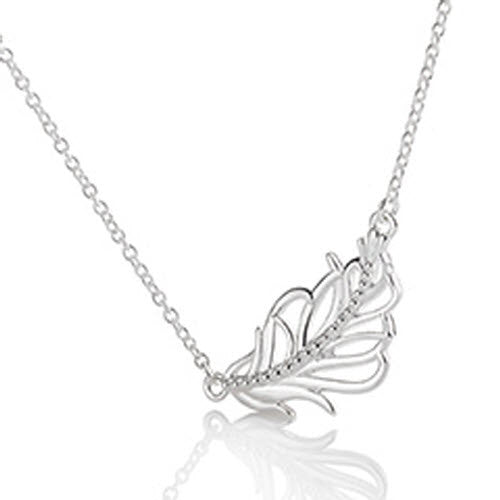 Chamilia Pendant Feather Silver
