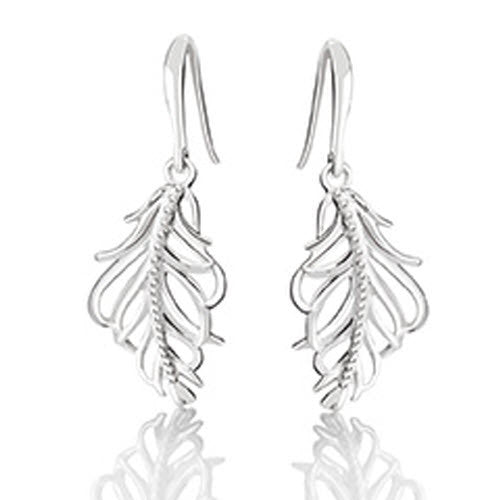 Chamilia Earrings Feather Silver