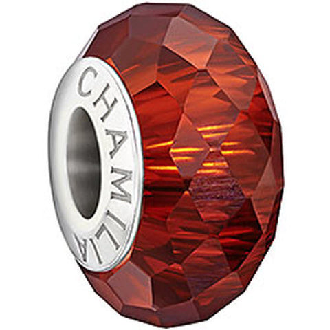 Chamilia Charm Red Murano Glass