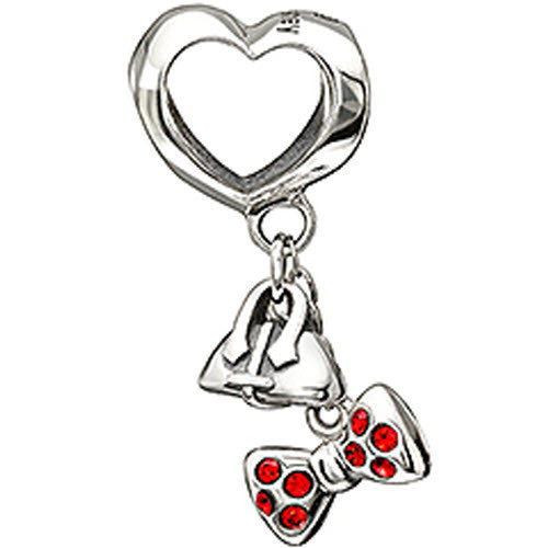 Chamilia Charm Disney Fashionably Tied Silver