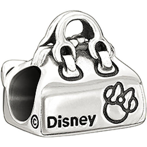 Chamilia Charm Disney Minnie Mouse Loves Shopping Silver