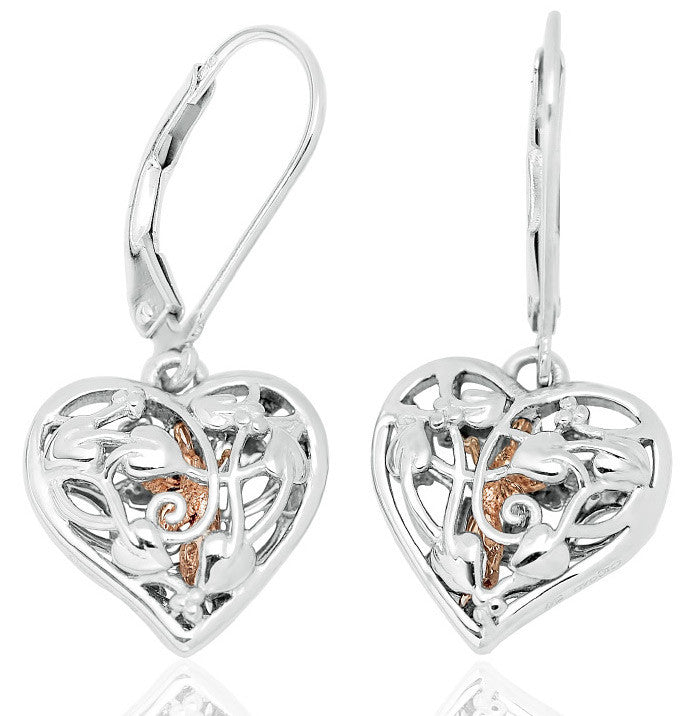 Clogau Earrings Fairy Silver