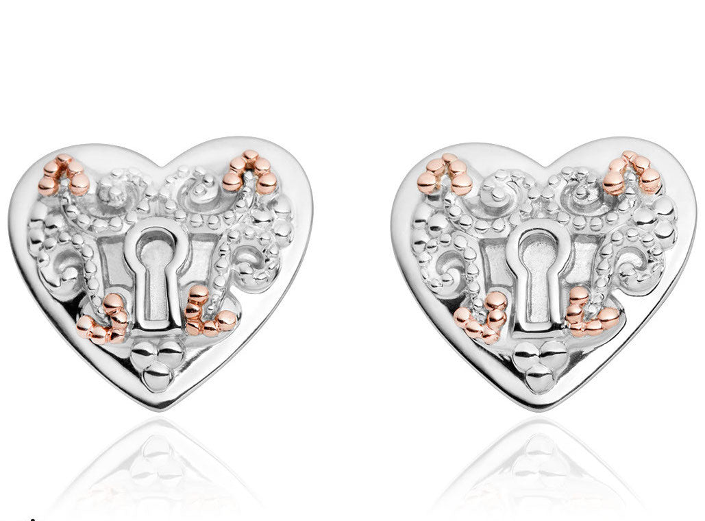 Clogau Earrings Kensington Stud Silver
