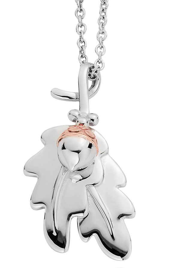 Clogau Pendant Royal Oak Silver