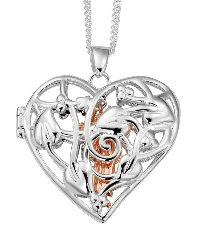 Clogau Pendant Fairy Silver Locket