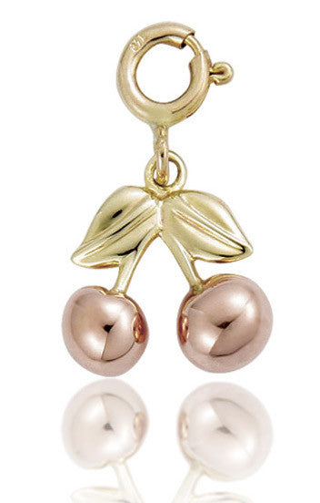 Clogau Charm Cherries Gold