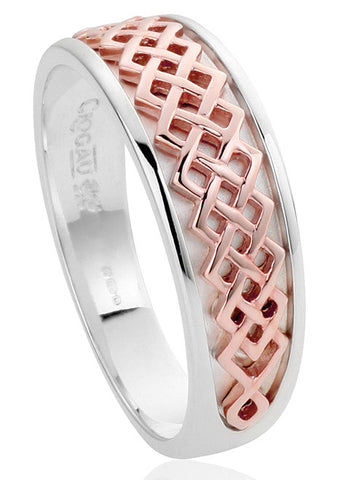 Clogau Ring Welsh Royalty Silver N