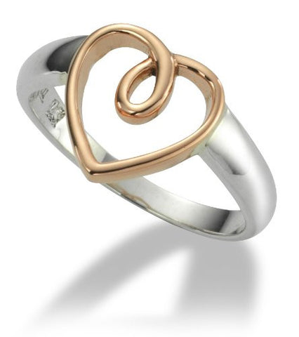 Clogau Ring Lovespoon Silver