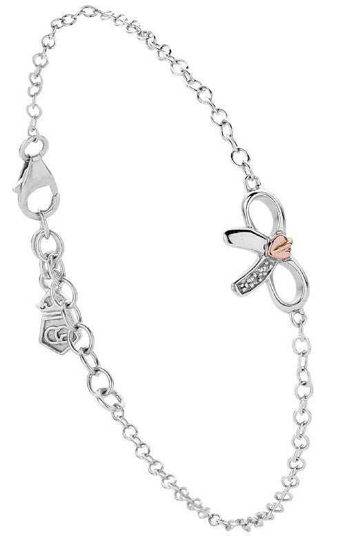 Clogau Bracelet Tree of Life Bow Silver
