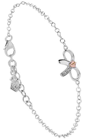 Clogau Tree of Life Bow Silver Bracelet