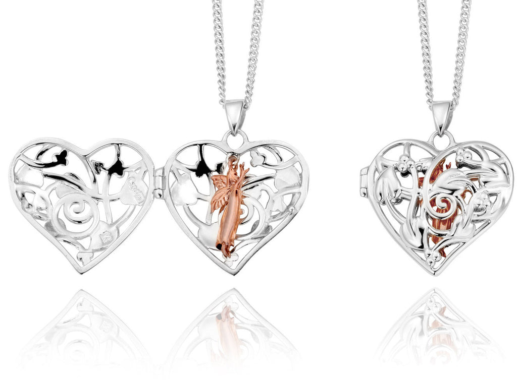 Clogau Pendant Small Fairy Silver Locket
