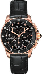 Certina Watch DS First Lady Ceramic Chrono Quartz C014.217.36.051.00