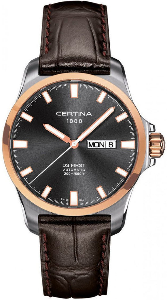 Certina Watch DS First Day Date Automatic C014.407.26.081.00