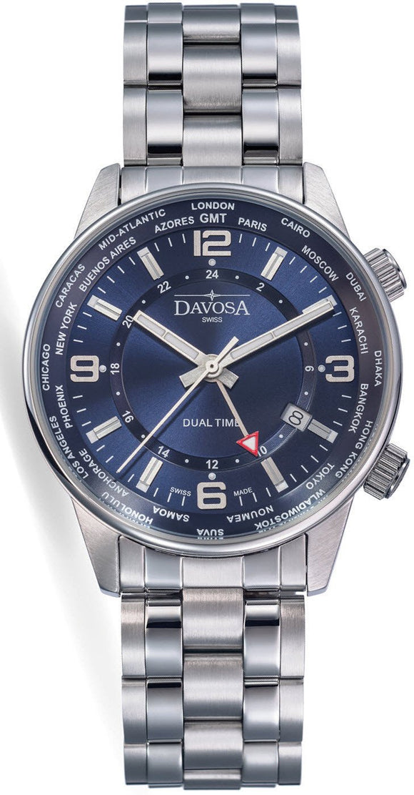 Davosa Watch Vireo Dual Time 16348045