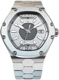 Dietrich Watch TC-1 Plain Silver.