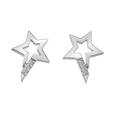 Hot Diamonds Earrings Micro Silver D