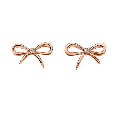 Hot Diamonds Earrings Flourish Silver D