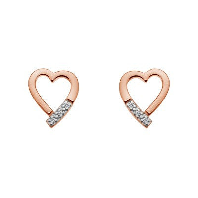 Hot Diamonds Earrings Memories Silver