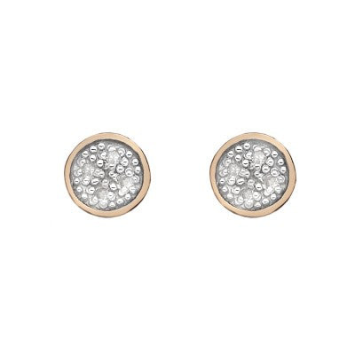 Hot Diamonds Earrings Stargazer Rose Gold
