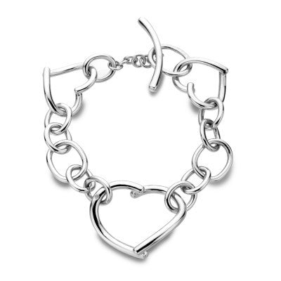 Hot Diamonds Bracelet Just Add Love Silver D
