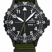 Damasko Watch DH 1.0 Green Nato DH 1.0 Green Nato
