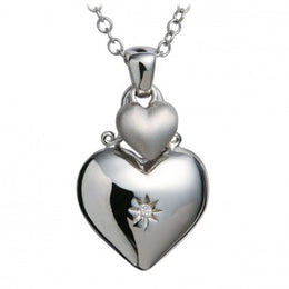 Hot Diamonds Necklace Just Add Love Touch Silver