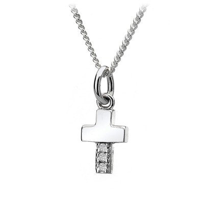 Hot Diamonds Necklace Micro Cross Micro D