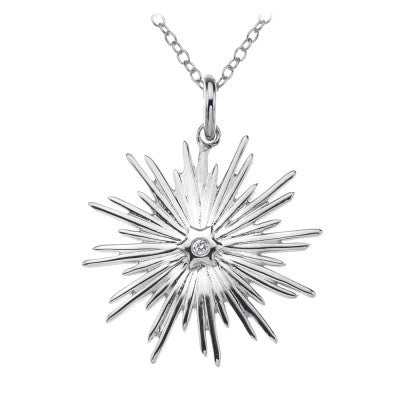 Hot Diamonds Necklace Winter Wonderland Icicle Silver D