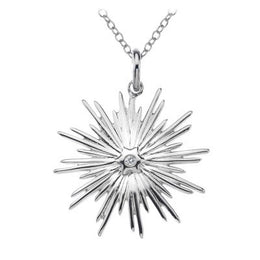 Hot Diamonds Necklace Winter Wonderland Icicle Silver