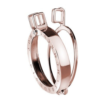Emozioni Coin Keeper Rose Gold Silver 33mm